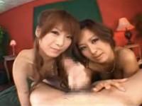 【アダルト動画】2人の美巨乳GALにオチンチン挟まれナメられ至福の時間wwwwwwwww(無料)