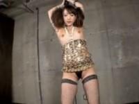 【アダルト動画】体コン&網タイツのプリ尻GALがポールダンスやってますwww(無料)