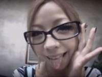 【アダルト動画】眼鏡似合いすぎな激かわGALが男を奴隷にして責めまくるwww(無料)
