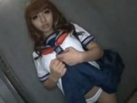 【アダルト動画】えろそうな顔した激かわGALの過激イメージビデオがヌける☆(無料)