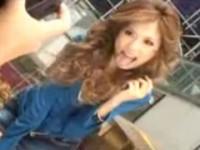 【アダルト動画】公衆トイレでフェラチオ抜きするえろGAL鈴木あんながビッチすぎるwww(無料)