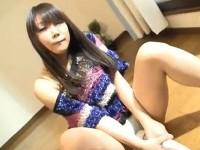 【アダルト動画】おなにーで電動マッサージ機や脚の踵をまんこにグリグリ押し付け感じる女の子(無料)