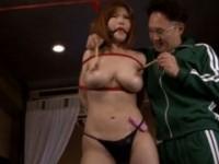 【アダルト動画】最強にえろい体したデカ乳GALを縛りして指導で躾。沖田杏梨(無料)