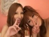 【アダルト動画】ビデオカメラとペニバン持参でラブHOTELでレズビアンエッチ☆するえろカワGAL(無料)
