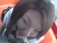 【アダルト動画】身ごもる妊婦なシロウトGALがおカネ欲しさに観覧車の中でフェラチオ抜きムービー収録(無料)