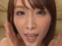 【アダルト動画】癒し系GALが汁男優のざーめんを浴びまくるぶっかけえろムービー(無料)