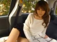 【アダルト動画】(車内)S学校GAL相澤リナのえろ乳に射精へと導いてもらった☆(無料)