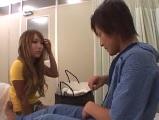 【アダルト動画】お見舞いに来た恋人と病室でSEX(無料)