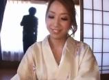 【アダルト動画】着物を着た若女将と中だしSEX(無料)
