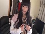 【アダルト動画】清純系の無毛美今時女子校生と中だしエッチ☆(無料)