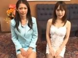 【アダルト動画】美人妻とカワイい小娘のソープ店(無料)