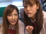 【アダルト動画】カワイい女の子たちのダブルフェラチオ(無料)