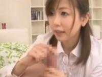 【アダルト動画】清楚なオネエさんの凄テク亀頭責め変態手コキ(無料)