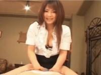 【アダルト動画】谷間&おパンツを絶妙にチラ見せしつつ性感マッサージしちゃうドSGAL 初音みのり(無料)