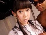 【アダルト動画】清純系のカワイい無毛美今時女子校生が外国人とはげしいサンピーSEXで喘ぎまくる(無料)