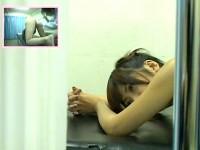 【アダルト動画】( 秘密撮影ムービー )ケツの穴を触診されてる時の女性達のリアルな表情をご覧下さい。※2アングル秘密撮影(無料)