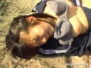 【アダルト動画】(モザ無)(今時女子校生強姦)「もうやめて」ビーチで男に抵抗できず強姦される今時女子校生(モザ無)(無料)