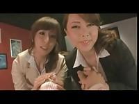 【アダルト動画】(強姦)変態おチ○ポ好きすぎる痴ジョのav女優ふたりにチ○ポをしゃぶってもらう(無料)