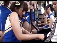 【アダルト動画】(強姦)チカン売春集団のドS女子高チア部痴ジョ今時女子校生にブルマ尻コキされる(無料)