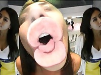 【アダルト動画】(フェチ)痴女語を浴びせながら変態ベロKISSを見せるドS女(無料)