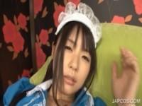 【アダルト動画】(フェチ)メイドさんコスプレの美今時女子校生が電動マッサージ機責めで喘ぐダメこれ以上やったらいっぱい感じちゃうから(無料)