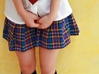【アダルト動画】(フェチ)あやみ旬果着えろで魅せる太もも絶対空域とエッチ☆な今時女子校生パンチラ(無料)