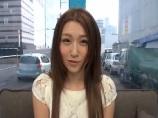 【アダルト動画】マジックミラー号の中かでモデル受付嬢とSEX(無料)