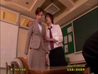 【アダルト動画】(SM指導)生徒達に指導される外国人痴女教師(無料)