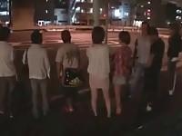 【アダルト動画】(強姦)夜行BUSでよばいされた美巨乳女子大学生が親友の隣の席でハメられる(無料)