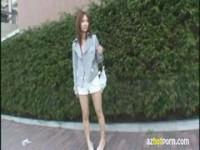 【アダルト動画】(フェチ)シロウト白GALのすらっとした脚や小ぶりなお乳にそそられる(無料)