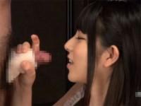 【アダルト動画】上原亜衣 ジュポジュポフェラチオからのオナホコキで精子搾取(無料)