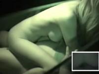 【アダルト動画】( 秘密撮影ムービー )闇夜に隠れてカーSEXする若いカップルを狙い赤外線秘密撮影したリアル映像☆☆☆(無料)