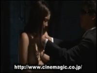 【アダルト動画】(SM指導)鎖に繋がれ紐で縛られ鞭で叩かれる女性奴隷の指導現場(無料)