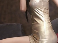 【アダルト動画】(フェチ)ゴージャスなアジアモデルの非脱ぎ脚フェチ(無料)