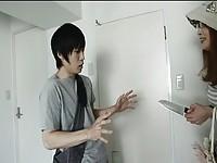 【アダルト動画】(強姦)星野あかりが包丁を持って逆強姦(無料)