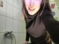 【H動画】 【アダルト動画】《フェチ》ジーンズ風なビキニおぱんちゅ買ったので尿もらすよ~