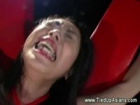 【エロ動画】 【アダルト動画】《奴隷訓育》ハード奴隷訓育アラサーのどドしろーとな専業主婦が赤ロープでBD奴隷され目覚めるマゾ豚の血