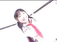 【H動画】 【アダルト動画】《おぼこ喪失》黒髪の毛の清楚な無毛のおぼこの美幼い女子高生が紐をオまんまんに食い込ませて腰ふりG行為