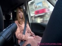 【エッチ動画】 【アダルト動画】《フェチ》巨乳ハーフ美女がドライブ中に抑制 できず車を降りて即おしゃぶり