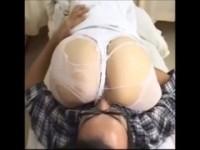 【エッチ動画】 【アダルト動画】《フェチ》断りきれない美女ナースのストッキング破いて生ハメ