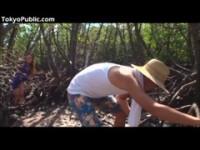 【アダルト動画】 【アダルト動画】《襲う》激ヤバプレイガール女女が森の中で男を見つけ青姦逆襲う汗ばんだチ○ポこをしゃぶり上げ精液を搾り取る