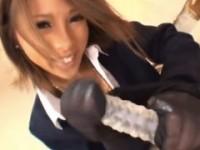 【咲】 【アダルト動画】《ユニフォームGALmovie》フェチにはたまらん黒GALのパンツストッキング着衣責めに射精♪希咲エマ