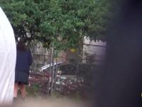 【エッチ動画】 【アダルト動画】激カワなユニフォーム姿の学生の歩き方がおかしかったので尾行して盗み見してみると室外放尿の現場を捉えた!!