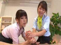 【無料エロ動画】 【アダルト動画】講師に教わりながら手コキイクに誘う美BBASPAティシャン