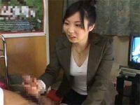 【無料エロ動画】 【アダルト動画】ハンドサービスする派遣社員に戸惑いを隠せない恥じらいのS級素人娘