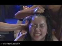 【エロ動画】 【アダルト動画】《奴隷しつけ》ぬるぬるキャットファイトから女同士の百合しつけに発展してる
