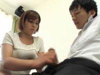 【H動画】 【アダルト動画】藤原麻美 乳離れ出来ない坊っちゃんを授乳手淫でシゴくボイン母さん