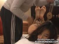【H動画】 【アダルト動画】《襲う》ガリ美女を屈辱のエビ反り緊縛責め