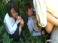 【エロ動画】 【アダルト動画】《襲う》美しい乳房なオンナ先生が森の中で女生徒の前で襲うされちゃう