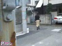 【アダルト動画】 【アダルト動画】ロングスカートの美女達を尾行し、下着丸出しになる程のスカートめくりをする露出悪ふざけを陰からこっそり隠し撮り。
